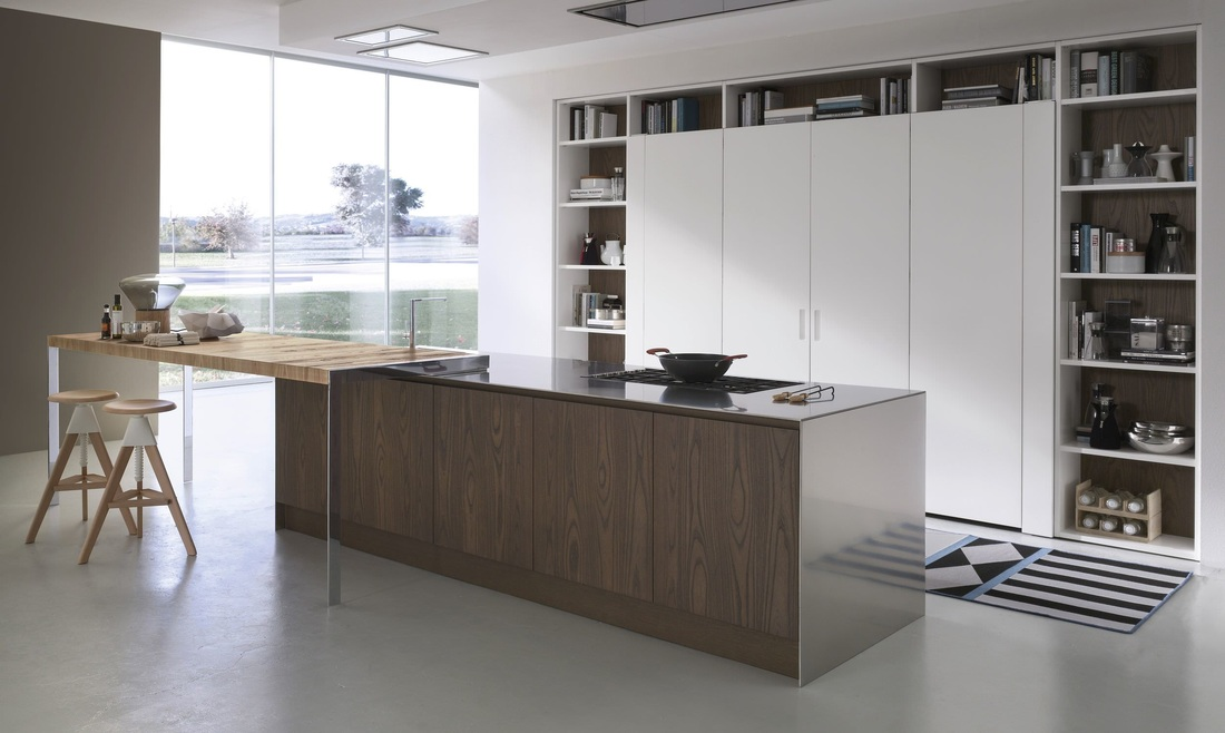 Barazza flush fitted hobs - TRUE handleless kitchens.co.uk