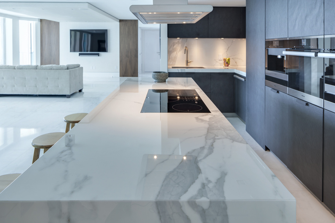Ceramic worktops - TRUE handleless kitchens.co.uk